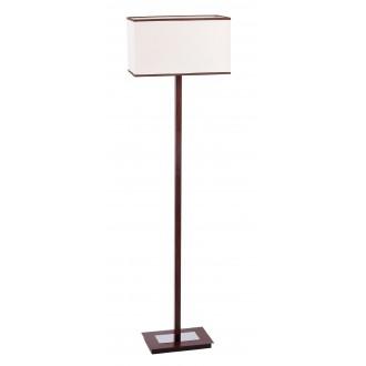 RABALUX 2900 | Kubu Rabalux podna svjetiljka 139,5cm sa prekidačem na kablu 1x E27 bež, smeđe, venga