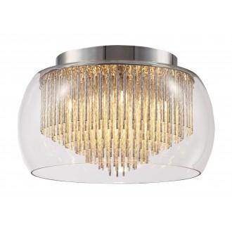 RABALUX 2916 | Mona Rabalux stropne svjetiljke svjetiljka 5x G9 1850lm 2700K krom, prozirno