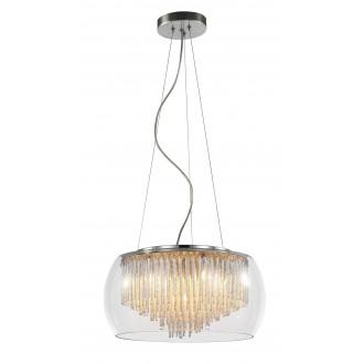 RABALUX 2917 | Mona Rabalux visilice svjetiljka 5x G9 1850lm 2700K krom, prozirno