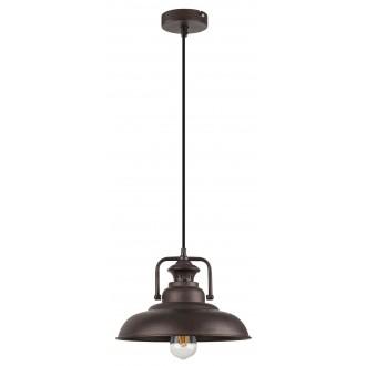 RABALUX 2930 | KyleR Rabalux visilice svjetiljka 1x E27 smeđe