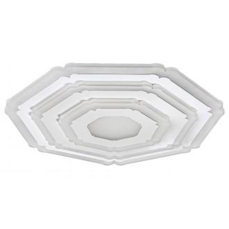 RABALUX 3100 | Taneli Rabalux stropne svjetiljke svjetiljka daljinski upravljač jačina svjetlosti se može podešavati, sa podešavanjem temperature boje, Bluetooth, noćno svjetlo 1x LED 3046lm 3000 <-> 6500K bijelo