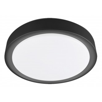 RABALUX 3283 | Foster-RA Rabalux stropne svjetiljke svjetiljka okrugli daljinski upravljač, sa senzorom jačina svjetlosti se može podešavati, sa podešavanjem temperature boje, promjenjive boje, timer, noćno svjetlo, háttérvilágítás 1x LED 1300lm 2700 <