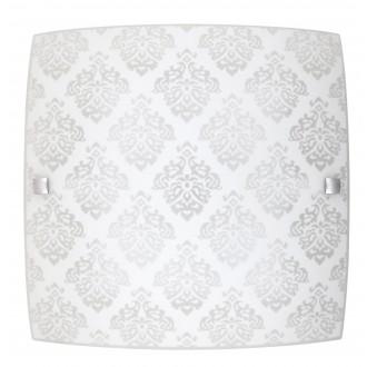 RABALUX 3330 | Fleur-RA Rabalux zidna, stropne svjetiljke svjetiljka četvrtast 1x LED 1440lm 3000K bijelo, šare