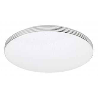 RABALUX 3347 | Oscar-RA Rabalux stropne svjetiljke svjetiljka okrugli 1x LED 1350lm 4000K krom, bijelo, svjetlucavi