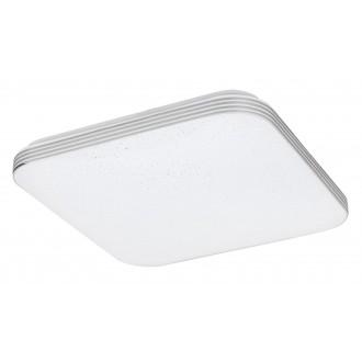 RABALUX 3348 | Oscar_RA Rabalux stropne svjetiljke svjetiljka četvrtast 1x LED 1350lm 4000K krom, bijelo, svjetlucavi