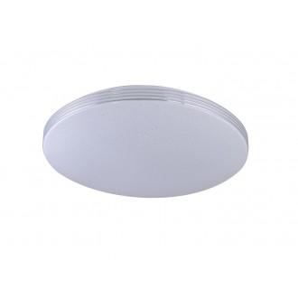 RABALUX 3411 | Oscar-RA Rabalux stropne svjetiljke svjetiljka okrugli 1x LED 2700lm 4000K krom, bijelo, učinak kristala