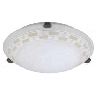 RABALUX 3483 | Tom Rabalux zidna, stropne svjetiljke svjetiljka 1x E27 alabaster, bronca