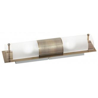 RABALUX 3552 | Periodic Rabalux zidna, stropne svjetiljke svjetiljka 2x E14 bronca, prozirno, bijelo
