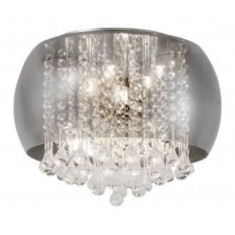 RABALUX 3598 | Ninelle Rabalux stropne svjetiljke svjetiljka 6x G9 krom, dim, kristal