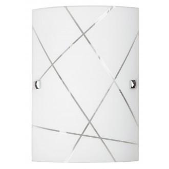 RABALUX 3697 | Phaedra Rabalux zidna svjetiljka 1x E27 krom, bijelo