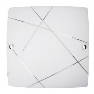 RABALUX 3698 | Phaedra Rabalux zidna, stropne svjetiljke svjetiljka 1x E27 krom, bijelo