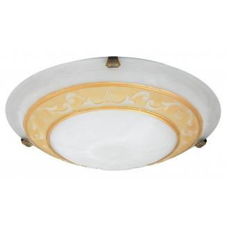 RABALUX 3714 | Laretta Rabalux zidna, stropne svjetiljke svjetiljka 2x E27 alabaster, bronca