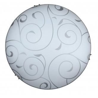 RABALUX 3853 | Harmony-lux1 Rabalux zidna, stropne svjetiljke svjetiljka 2x E27 sa bijelim patternom, krom