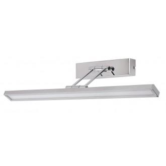 RABALUX 3907 | Picture-slim Rabalux zidna svjetiljka elementi koji se mogu okretati 1x LED 316lm 4000K krom, bijelo