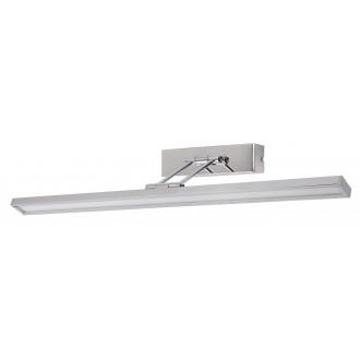 RABALUX 3908 | Picture-slim Rabalux zidna svjetiljka elementi koji se mogu okretati 1x LED 466lm 4000K krom, bijelo