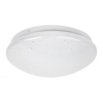 RABALUX 3936 | Lucas Rabalux zidna, stropne svjetiljke svjetiljka okrugli 1x LED 700lm 4000K bijelo, svjetlucavi