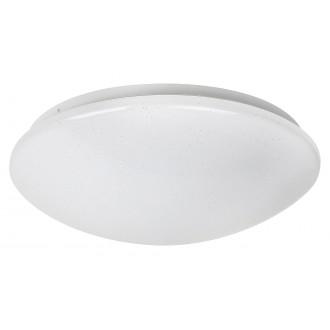 RABALUX 3938 | Lucas Rabalux zidna, stropne svjetiljke svjetiljka okrugli 1x LED 1370lm 4000K bijelo, svjetlucavi