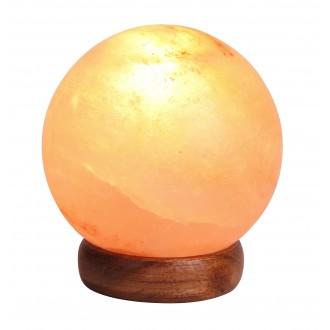 RABALUX 4093 | Ozone Rabalux stolna solna svjetiljka sa prekidačem na kablu 1x E14 90lm 2700K smeđe, bezbojno