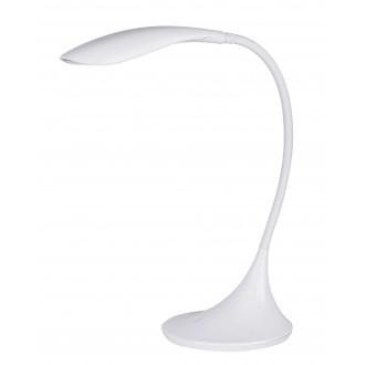 RABALUX 4166 | Dominic Rabalux stolna svjetiljka 52cm sa tiristorski dodirnim prekidačem fleksibilna, jačina svjetlosti se može podešavati 1x LED 480lm 3000K bijelo