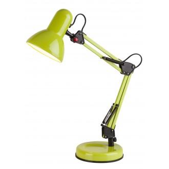 RABALUX 4178 | Samson Rabalux stolna svjetiljka 49cm sa prekidačem na kablu elementi koji se mogu okretati 1x E27 zeleno, crno