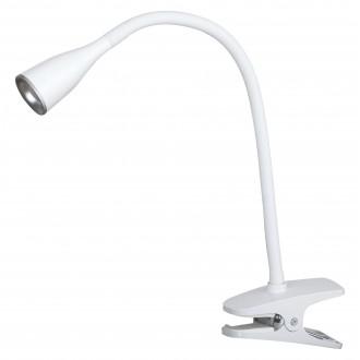 RABALUX 4196 | Jeff Rabalux svjetiljke sa štipaljkama svjetiljka s prekidačem fleksibilna 1x LED 330lm 3000K bijelo