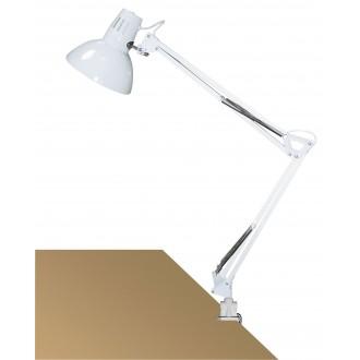 RABALUX 4214 | Arno Rabalux sa navojem svjetiljka sa prekidačem na kablu elementi koji se mogu okretati 1x E27 bijelo