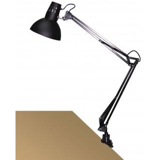 RABALUX 4215 | Arno Rabalux sa navojem svjetiljka sa prekidačem na kablu elementi koji se mogu okretati 1x E27 crno