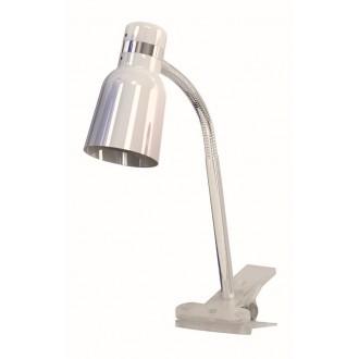 RABALUX 4291 | Color Rabalux svjetiljke sa štipaljkama svjetiljka sa prekidačem na kablu fleksibilna 1x E14 bijelo, krom