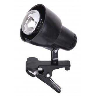 RABALUX 4357 | ClipR Rabalux spot svjetiljka sa prekidačem na kablu elementi koji se mogu okretati 1x E14 / R50 crno