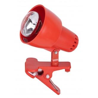 RABALUX 4358 | ClipR Rabalux spot svjetiljka sa prekidačem na kablu elementi koji se mogu okretati 1x E14 / R50 narančasto