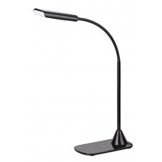 RABALUX 4447 | Edward Rabalux stolna svjetiljka 40cm s prekidačem fleksibilna 1x LED 350lm 4500K crno