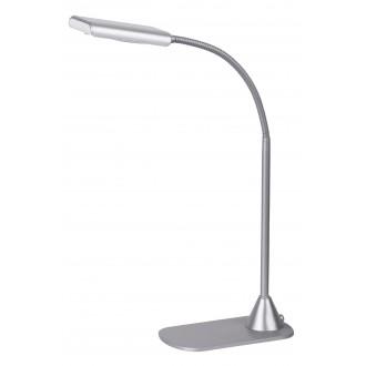 RABALUX 4448 | Edward Rabalux stolna svjetiljka 40cm s prekidačem fleksibilna 1x LED 350lm 4500K srebrno