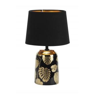 RABALUX 4549 | Sonal Rabalux stolna svjetiljka 30cm sa prekidačem na kablu 1x E14 zlatno, crno
