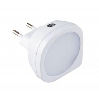 RABALUX 4647 | BillyR Rabalux noćno svjetlo svjetiljka svjetlosni senzor - sumračni prekidač utična svjetiljka 1x LED 2lm 2700K bijelo