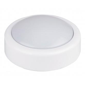 RABALUX 4703 | Push Rabalux zidna svjetiljka s prekidačem 1x LED bijelo