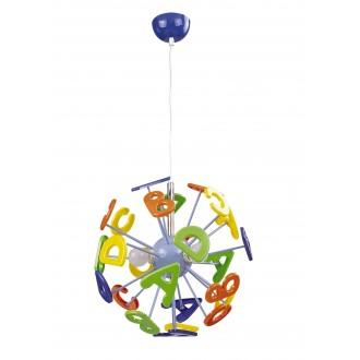 RABALUX 4716 | ABC Rabalux visilice svjetiljka 3x E14 višebojno