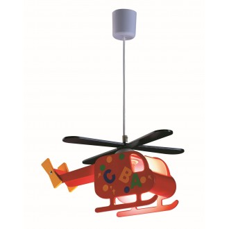 RABALUX 4717 | Helicopter Rabalux visilice svjetiljka 1x E27 višebojno