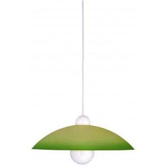 RABALUX 4756 | Tenor Rabalux visilice svjetiljka 1x E27 zeleno, bijelo