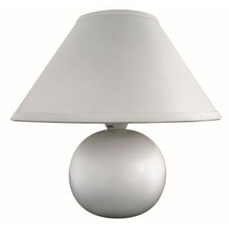 RABALUX 4901 | Ariel Rabalux stolna svjetiljka 19cm sa prekidačem na kablu 1x E14 bijelo
