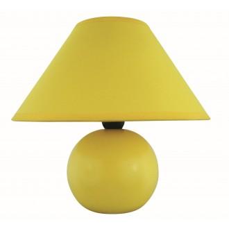 RABALUX 4905   Ariel Rabalux stolna svjetiljka 19cm sa prekidačem na kablu 1x E14 žuto