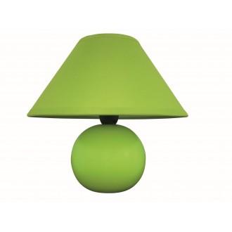 RABALUX 4907 | Ariel Rabalux stolna svjetiljka 19cm sa prekidačem na kablu 1x E14 zeleno