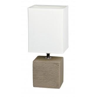 RABALUX 4930 | OrlandoR Rabalux stolna svjetiljka 30cm sa prekidačem na kablu 1x E14 kakao, bezbojno