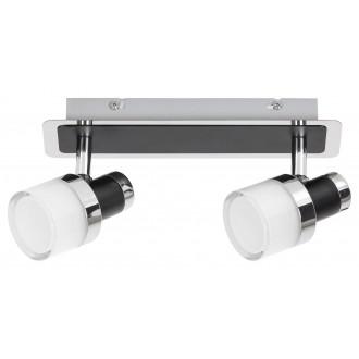RABALUX 5022 | Harold Rabalux spot svjetiljka elementi koji se mogu okretati 1x LED 800lm 4000K IP44 krom, crno, opal