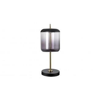 RABALUX 5026 | Delice Rabalux stolna svjetiljka 34cm sa prekidačem na kablu 1x LED 480lm 4000K crno, bronca, dim