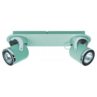 RABALUX 5034 | April-RA Rabalux spot svjetiljka elementi koji se mogu okretati 2x GU10 menta, krom