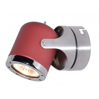 RABALUX 5037 | April-RA Rabalux spot svjetiljka elementi koji se mogu okretati 1x GU10 crveno, krom