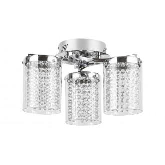 RABALUX 5042 | Astrella Rabalux stropne svjetiljke svjetiljka 1x LED 1350lm 4000K krom, prozirno, kristal