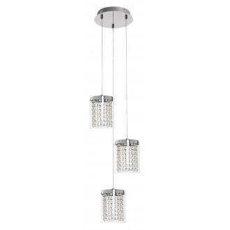 RABALUX 5044 | Astrella Rabalux visilice svjetiljka 1x LED 1350lm 4000K krom, prozirno, kristal