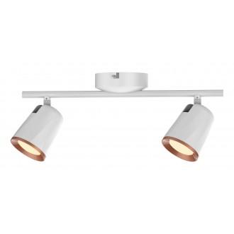 RABALUX 5046 | Solange Rabalux spot svjetiljka elementi koji se mogu okretati 1x LED 760lm 3000K bijelo, zlatno