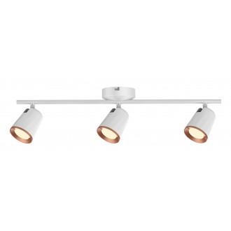 RABALUX 5047 | Solange Rabalux spot svjetiljka elementi koji se mogu okretati 1x LED 1140lm 3000K bijelo, zlatno